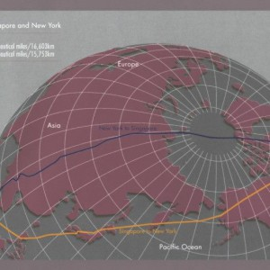 Longest flights in the world now shorter
